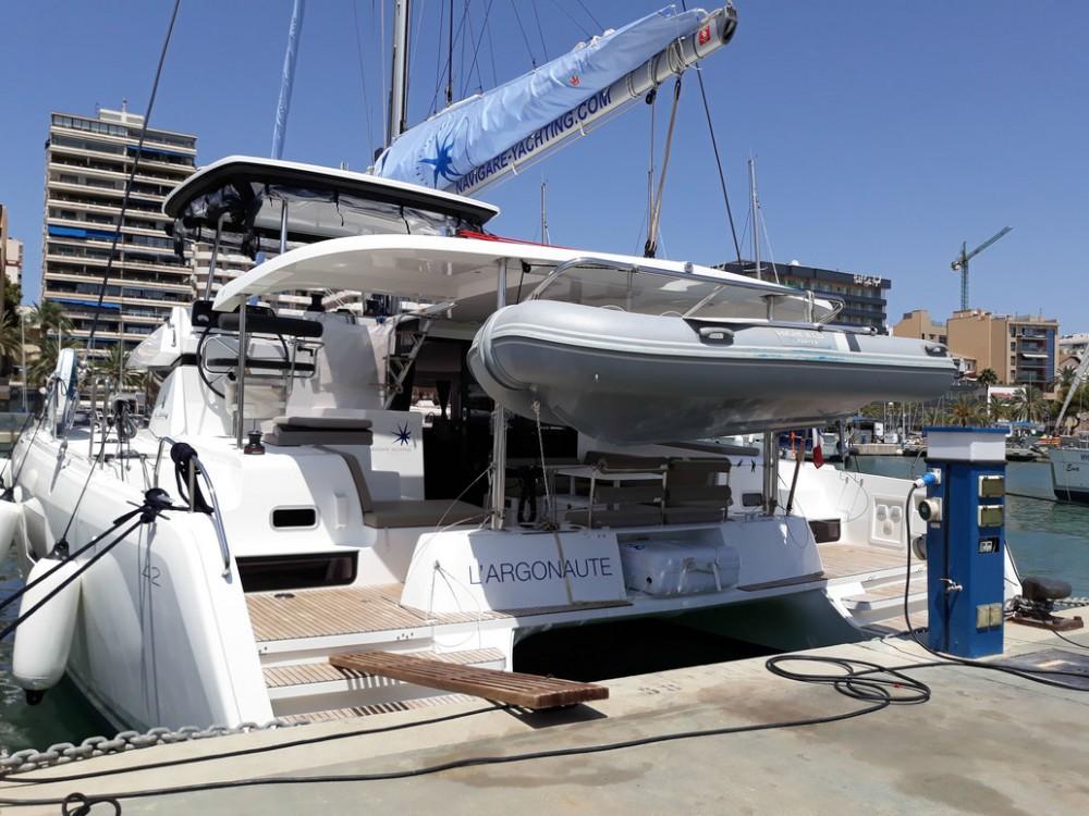 Rental Catamaran in Balearic Islands - Lagoon Lagoon 42 - 4 + 2 cab.