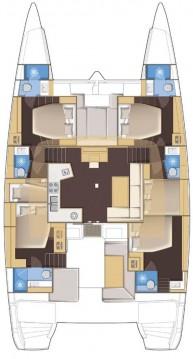 Rental Catamaran in Palma de Mallorca - Lagoon Lagoon 52 F