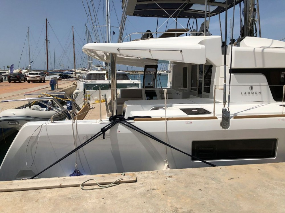 Rental yacht Peloponnese - Lagoon Lagoon 52 on SamBoat