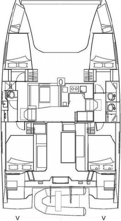 Rental yacht Tortola - Nautitech Nautitech 40 on SamBoat