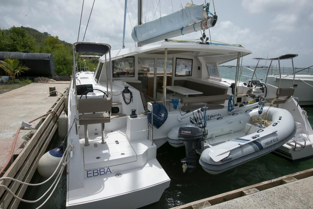 Boat rental Tortola cheap Nautitech 40