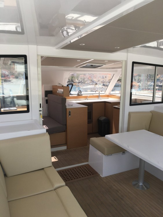 Boat rental Péloponnèse cheap Nautitech 40