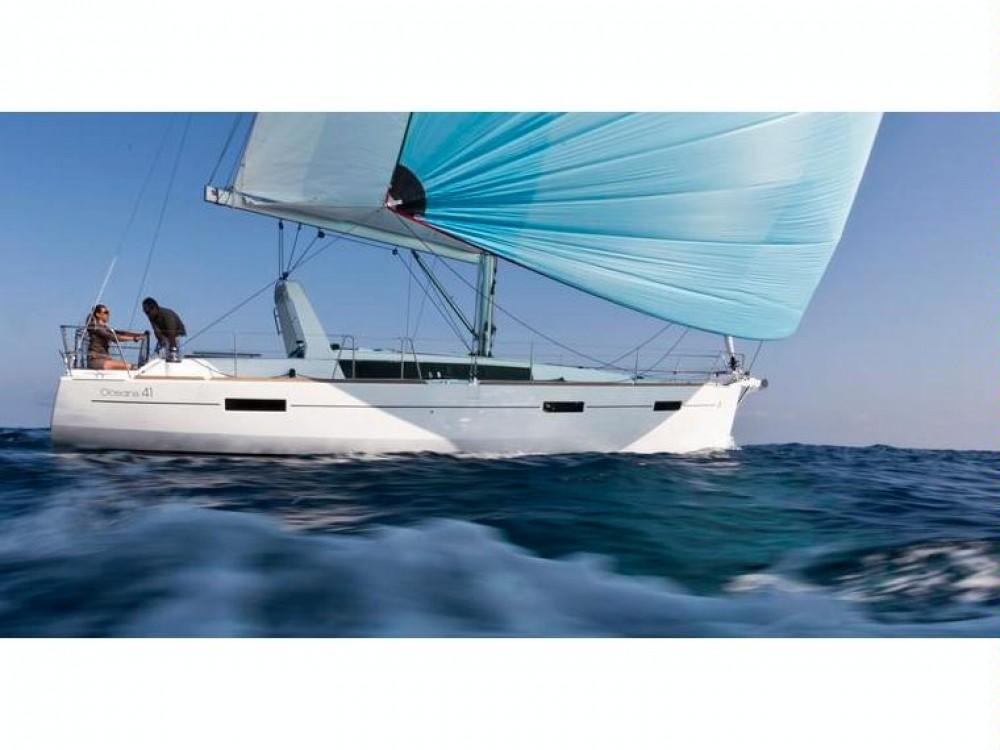Rental Sailboat in Göcek - Bénéteau Oceanis 41