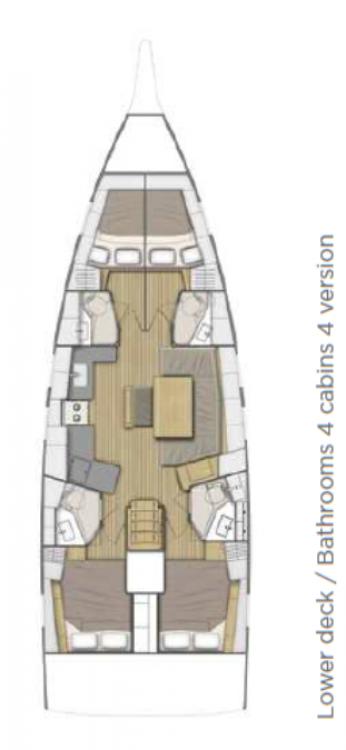 Rental yacht Balearic Islands - Bénéteau Oceanis 46.1 on SamBoat