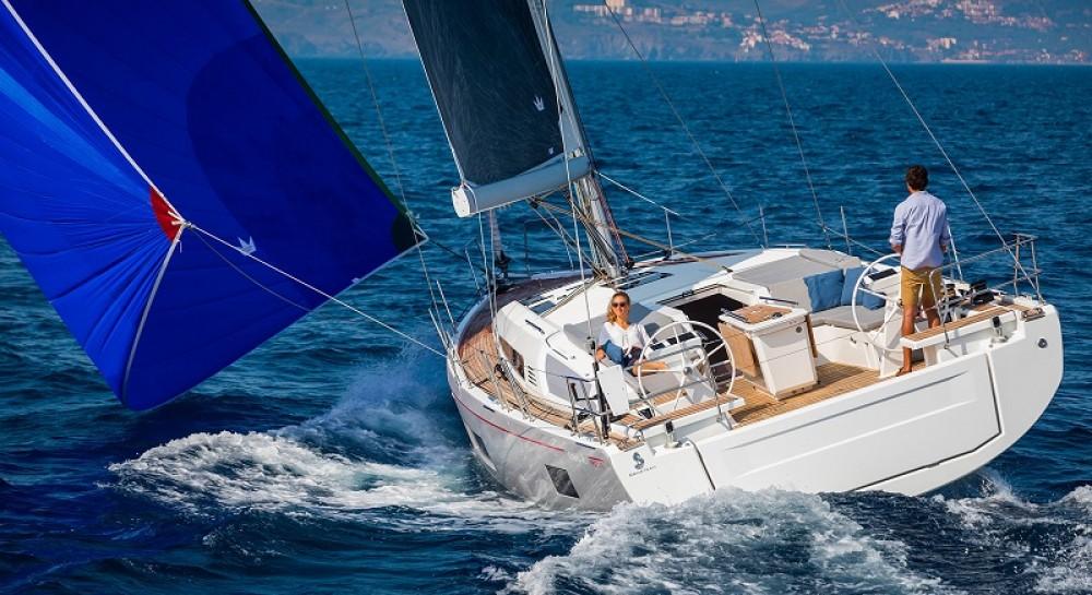 Boat rental Balearic Islands cheap Oceanis 46.1