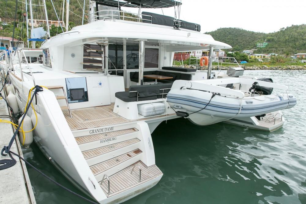 Rent a Lagoon Lagoon 560 S2 - 5 cab. Tortola