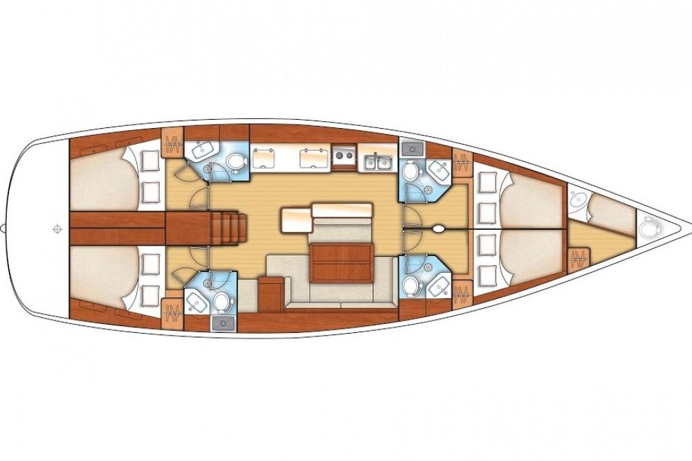 Rental Sailboat in Göcek - Bénéteau Oceanis 50 Family