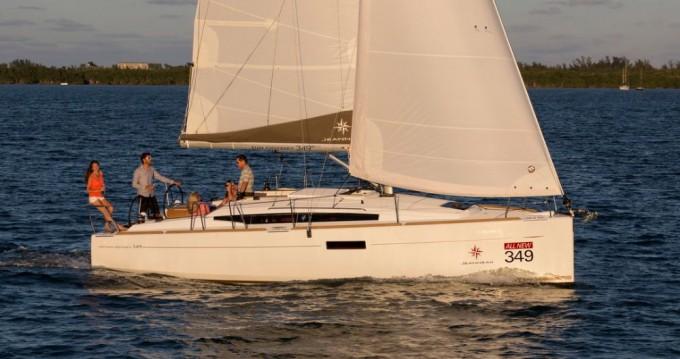Rental yacht Seget Donji - Jeanneau Sun Odyssey 349 on SamBoat