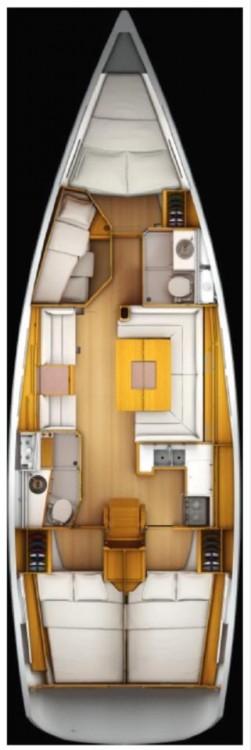 Rental yacht Stockholms län - Jeanneau Sun Odyssey 439 on SamBoat