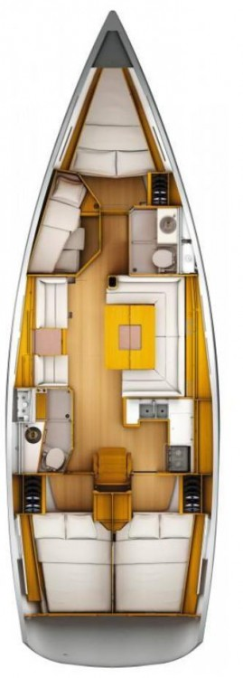 Jeanneau Sun Odyssey 439 between personal and professional