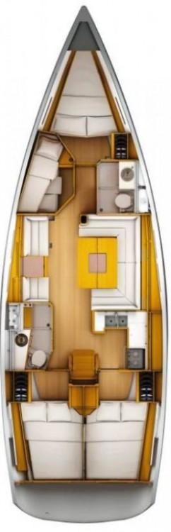 Rental yacht Seget Donji - Jeanneau Sun Odyssey 449 on SamBoat