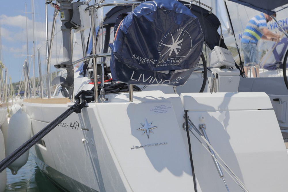 Rent a Jeanneau Sun Odyssey 449 Peloponnese