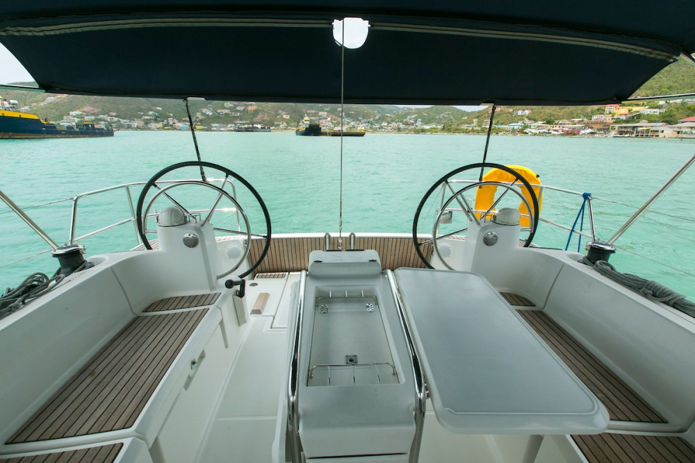 Jeanneau Sun Odyssey 469 between personal and professional Tortola