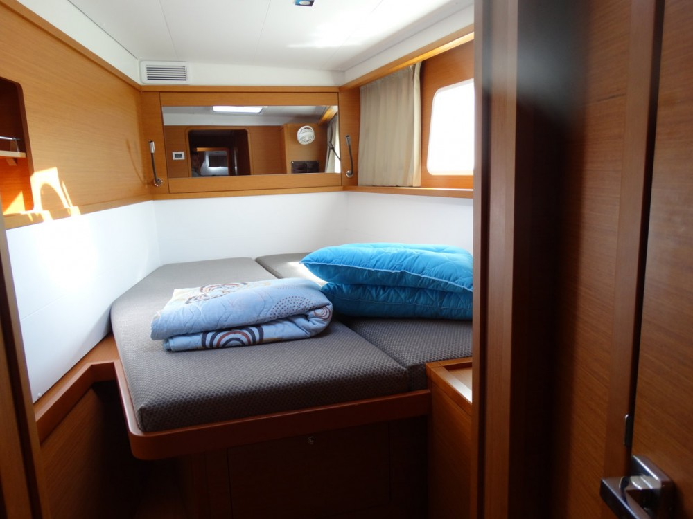 Lagoon Lagoon 450 between personal and professional Peloponnese