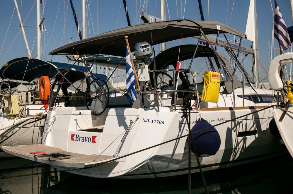 Rental yacht Péloponnèse - Jeanneau Sun Odyssey 449 on SamBoat