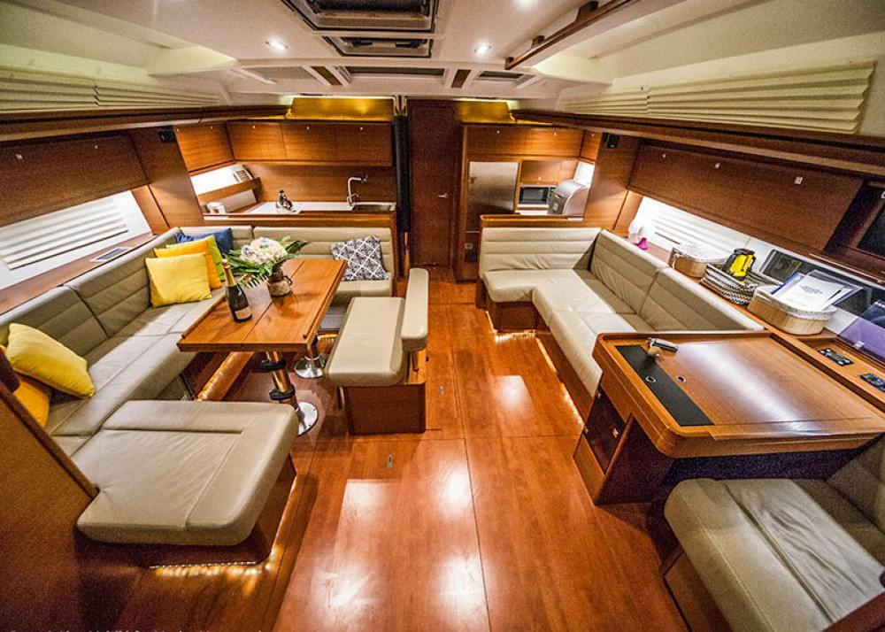 Boat rental Dufour Dufour Exclusive 56 - 4 + 1 cab. in Primošten on Samboat