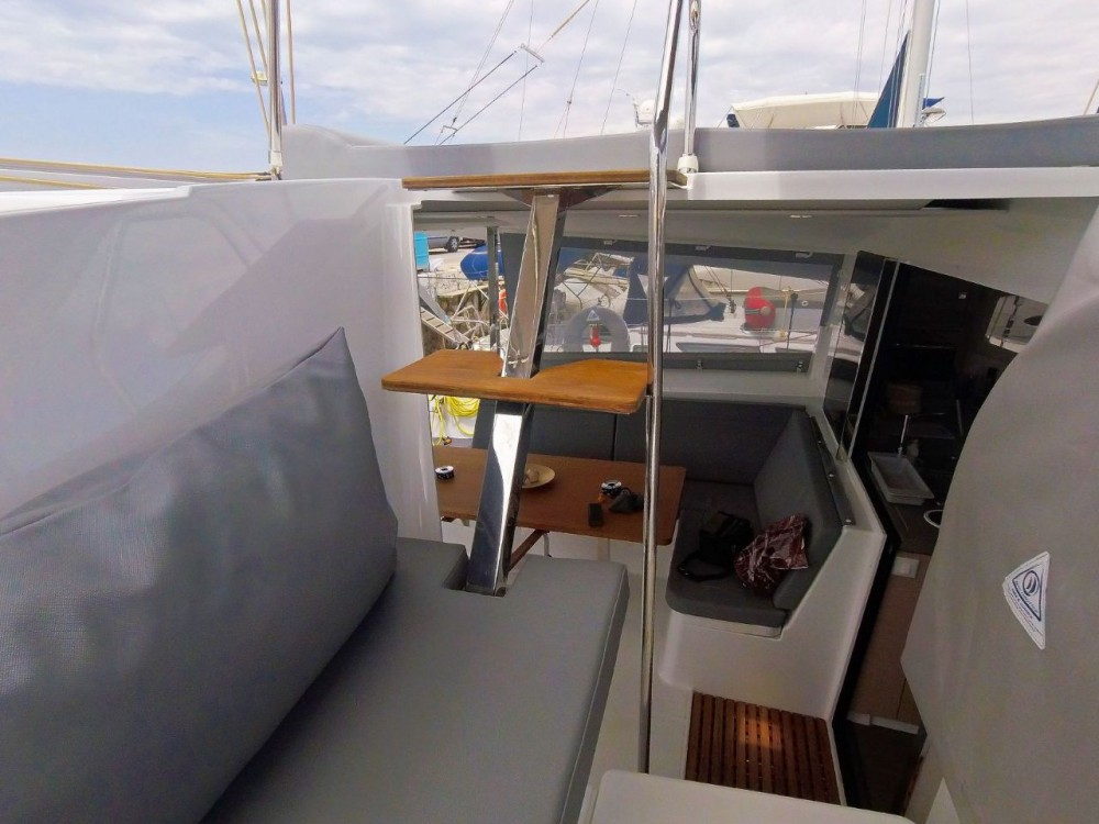 Rental yacht Mykonos - Fountaine Pajot Lucia 40 on SamBoat