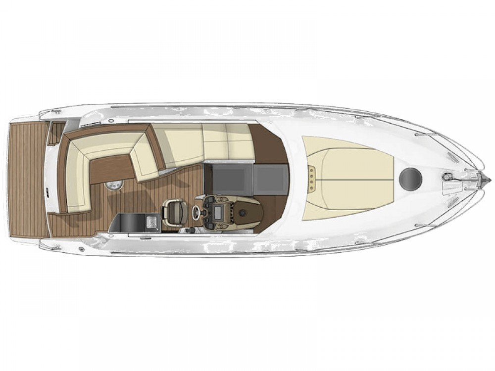 Boat rental Podstrana cheap Sessa C35