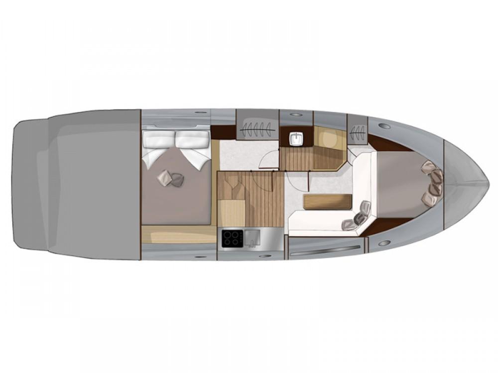 Rental yacht Podstrana - SESSA Sessa C35 on SamBoat