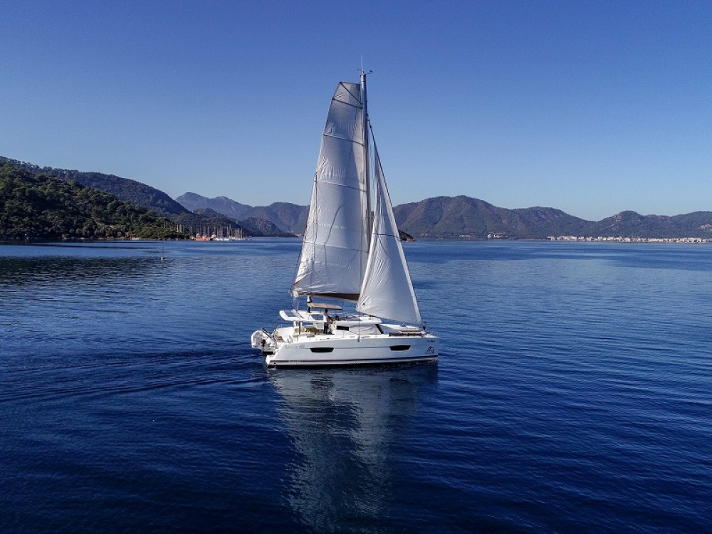 Rental yacht Marmaris - Fountaine Pajot Lucia 40 on SamBoat