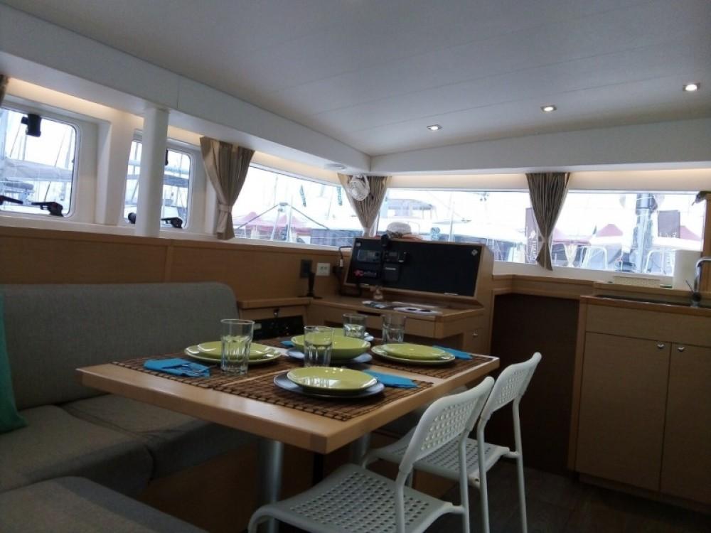 Boat rental Alimos Marina cheap Lagoon 400