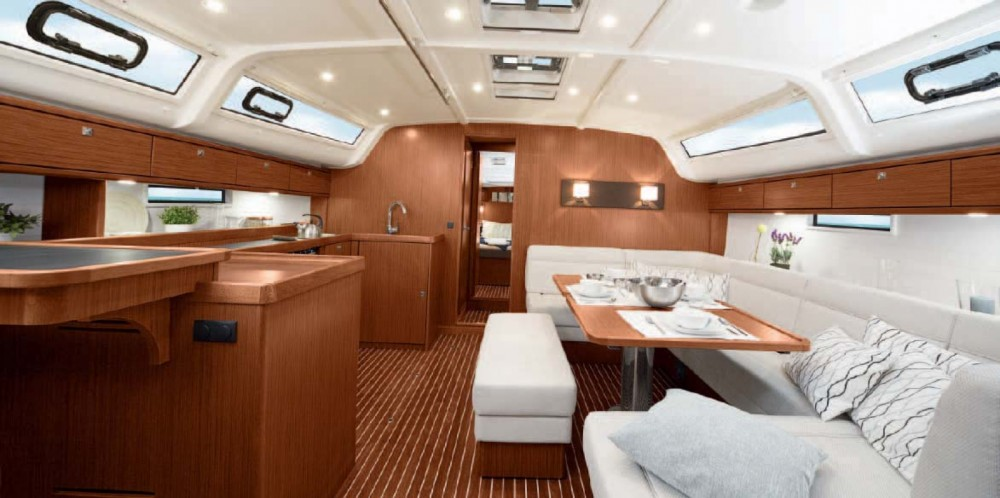 Bavaria Cruiser 51 between personal and professional Castellammare di Stabia