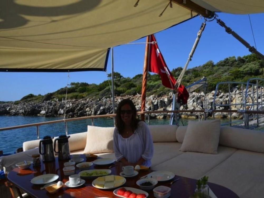 Rental Sailboat in Bodrum -  Gulet Remo