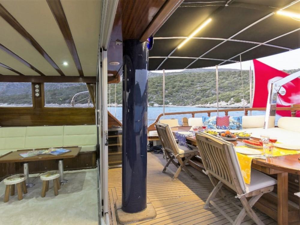 Rental Sailboat in Bodrum -  Gulet Karia
