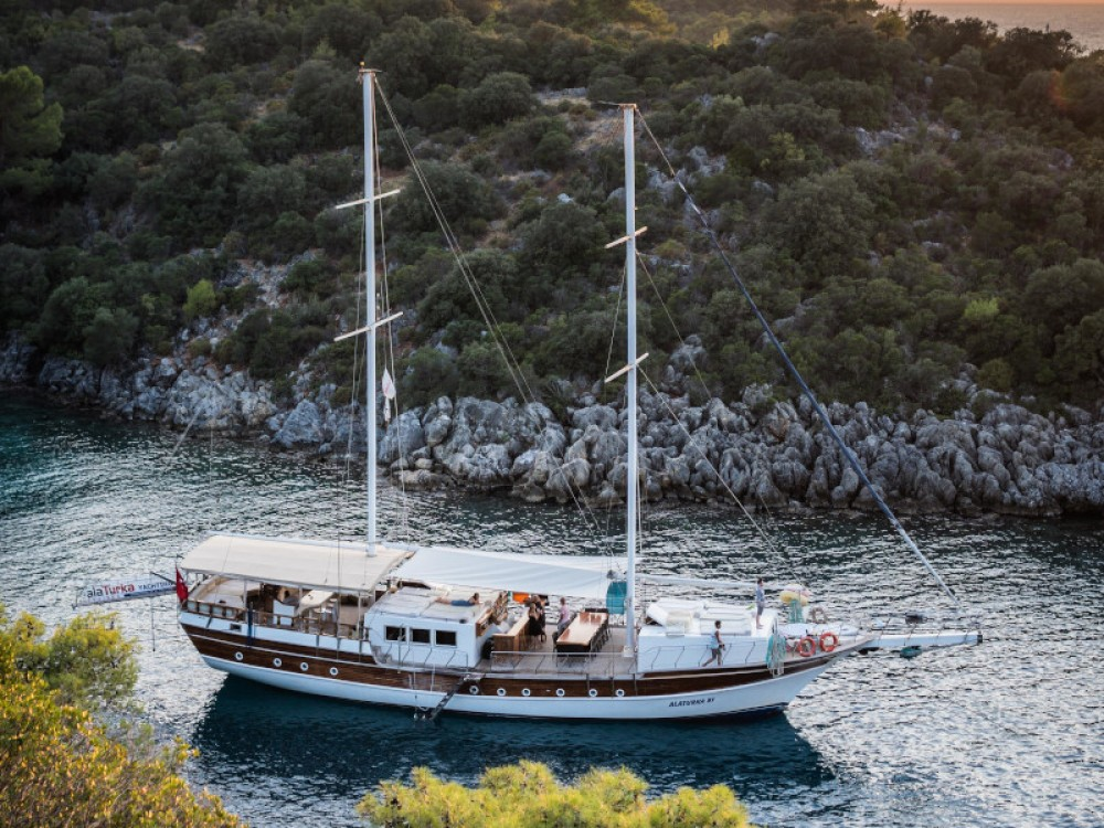 Rental yacht Fethiye -  Gulet- Alaturka 81 on SamBoat