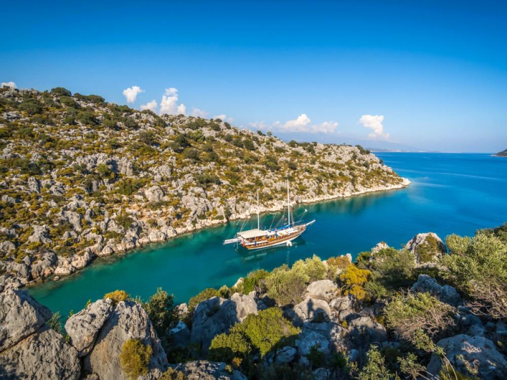 Boat rental Fethiye cheap Gulet- Alaturka 2