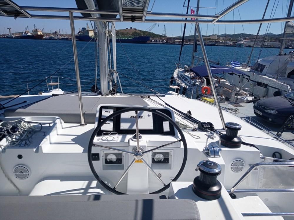 Rental Catamaran in Laurium - Lagoon Lagoon 450  Flybridge