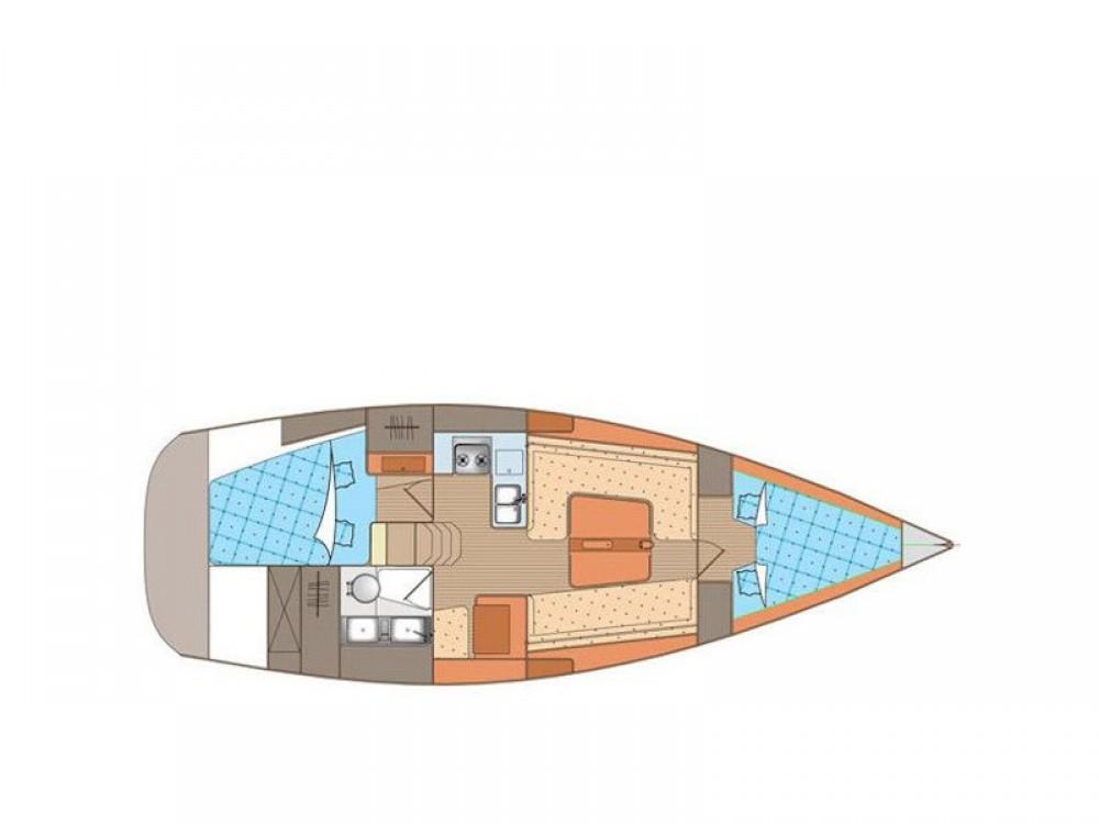 Boat rental Elan Elan 340 in Rogoznica on Samboat