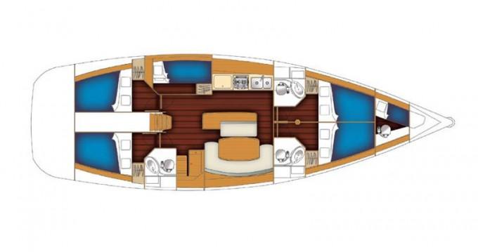 Boat rental Bénéteau Cyclades 50.5 in Alimos on Samboat