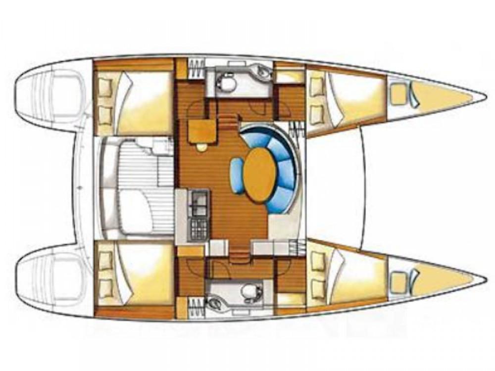 Rental yacht Vibo Valentia - Lagoon Lagoon 380 on SamBoat