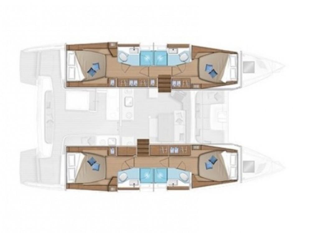 Boat rental Lagoon Lagoon 46 in Cagliari on Samboat