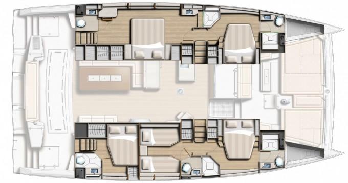 Rental Catamaran in Salerno - Bali Catamarans Bali 5.4