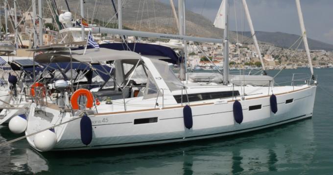 Boat rental Municipal Unit of Lefkada cheap Oceanis 45