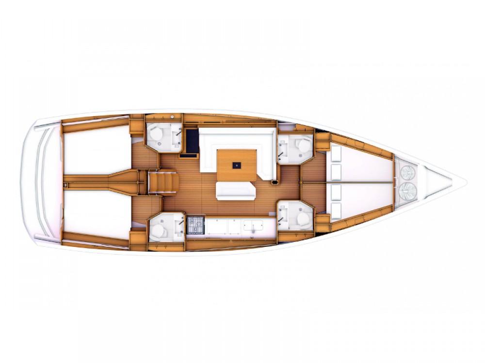 Rental yacht Follonica - Jeanneau Sun Odyssey 469 on SamBoat