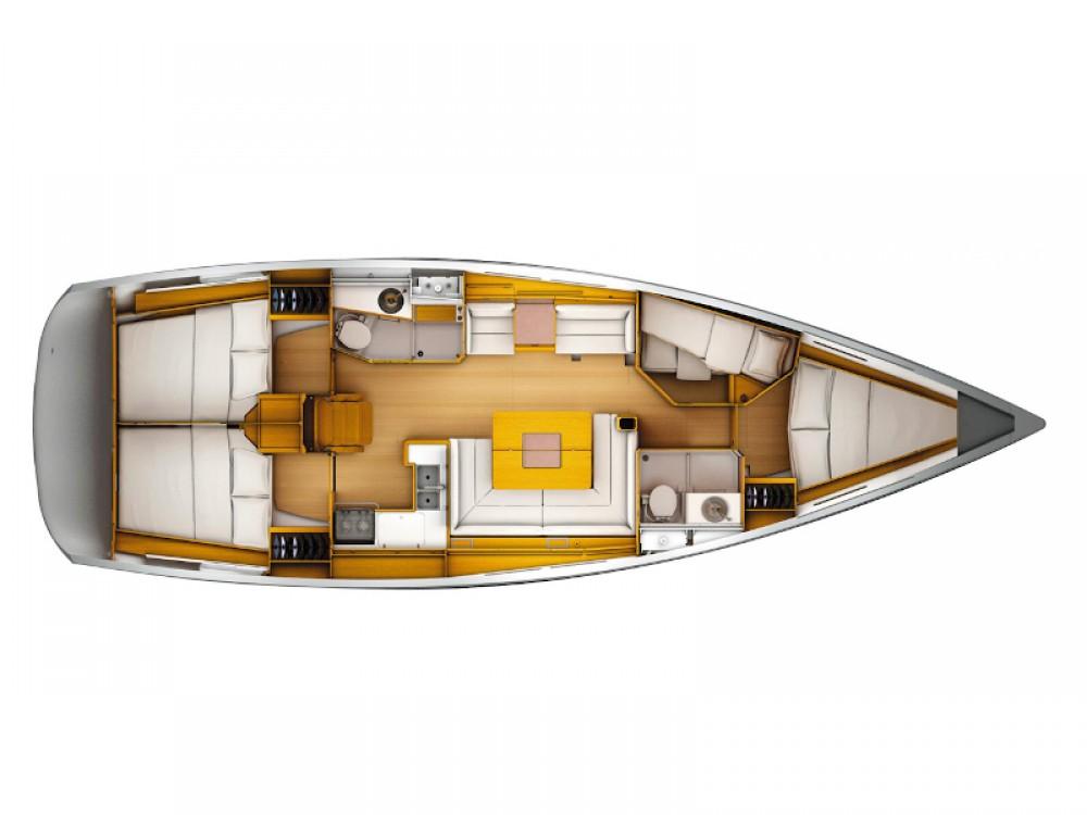 Rental Sailboat in Follonica - Jeanneau Sun Odyssey 449