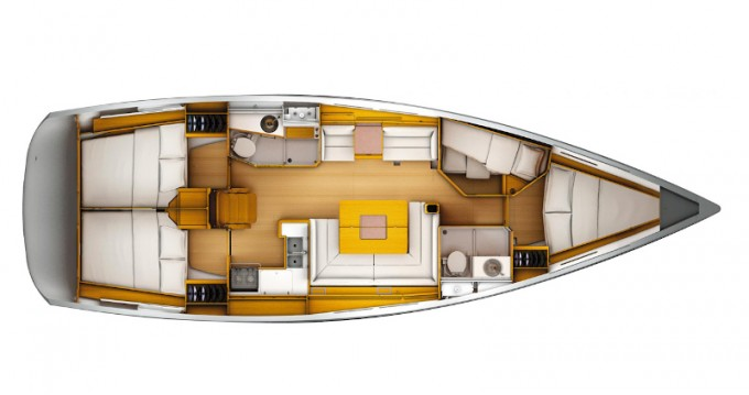 Boat rental Jeanneau Sun Odyssey 449 in Follonica on Samboat