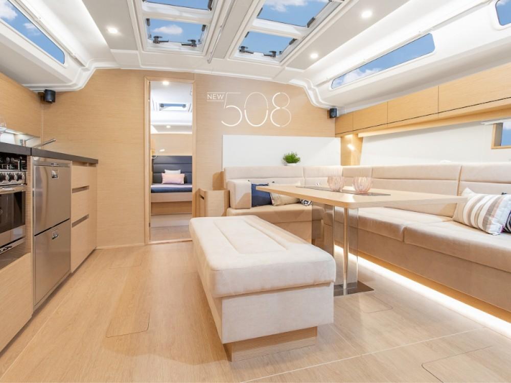 Boat rental Laurium cheap Hanse 508