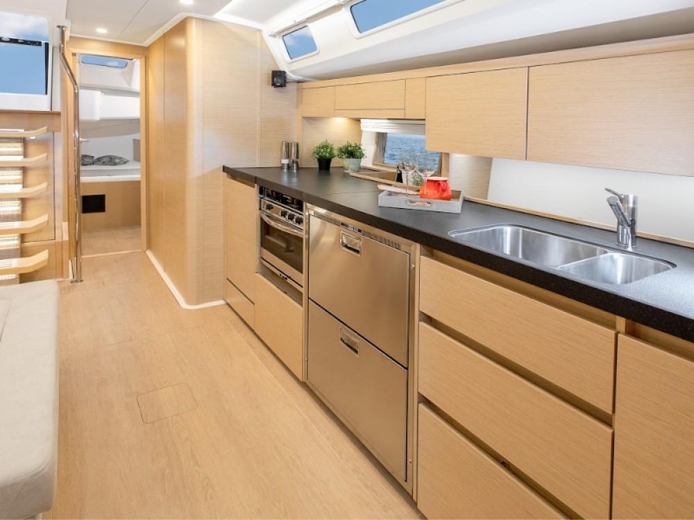 Rental yacht Laurium - Hanse Hanse 508 on SamBoat