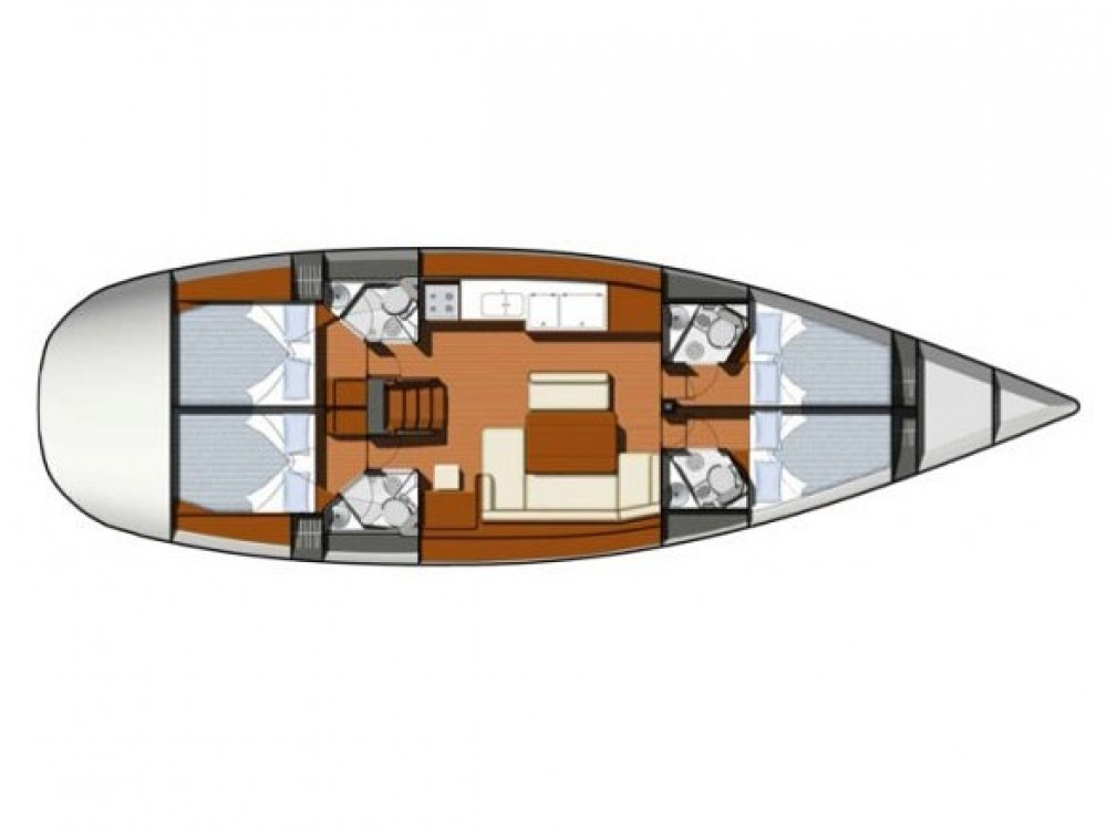 Rental Sailboat in Marmaris - Jeanneau Sun Odyssey 49i