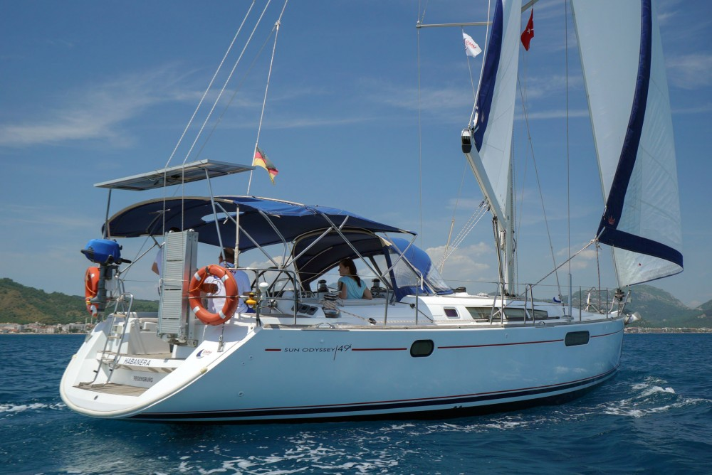 Jeanneau Sun Odyssey 49i between personal and professional Marmaris