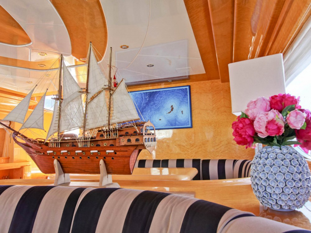 Yacht for rent  at the best price