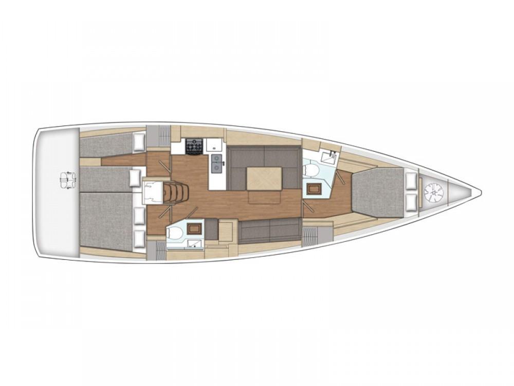 Rental Sailboat in  - X-Yachts X4-6 model 2019