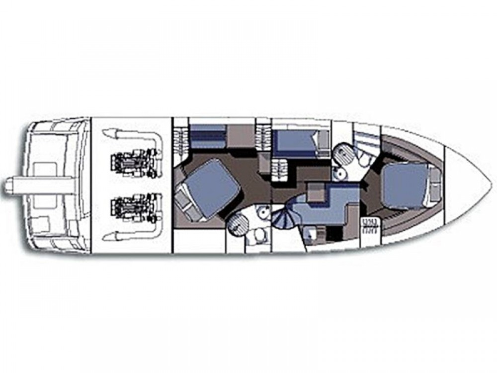 Rental Motor boat Sunseeker with a permit