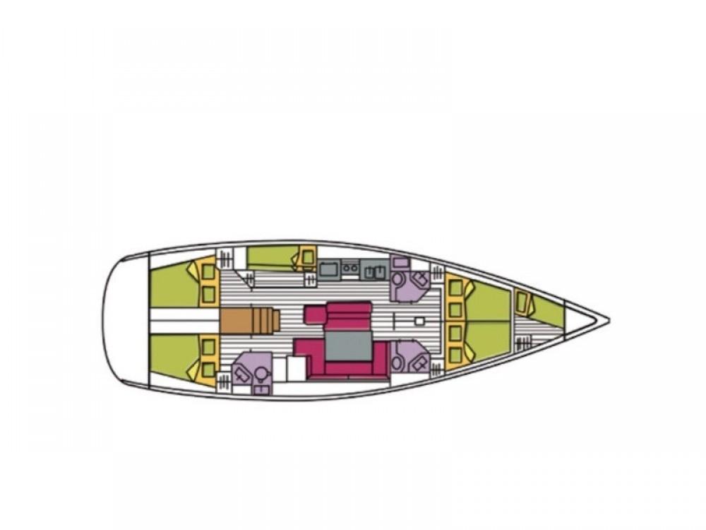 Rental yacht Palma de Mallorca - Bénéteau Oceanis 48 on SamBoat