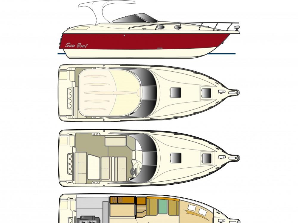 San Boat 980 Cuddy between personal and professional Trogir