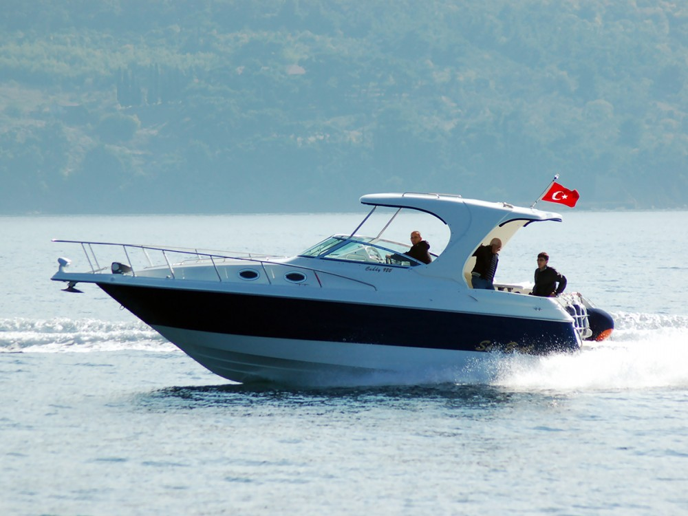 San Boat 980 Cuddy between personal and professional ACI Marina Trogir
